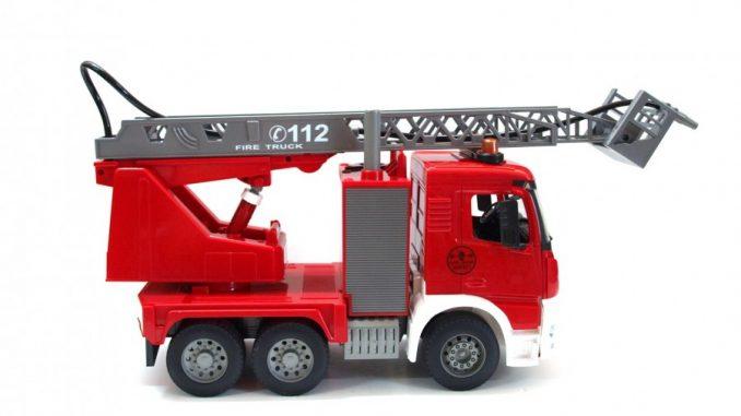 Zabawki zdalnie sterowane - wóz strażacki