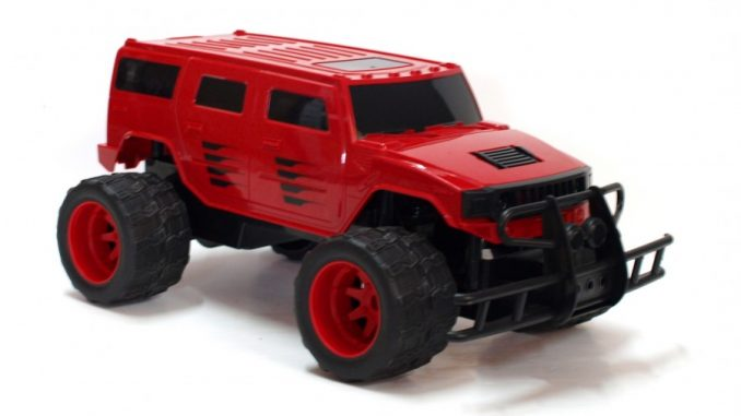 Zabawki zdalnie sterowane - hummer