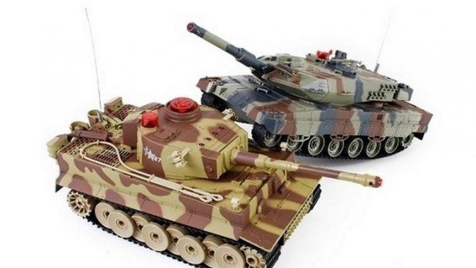Zabawki zdalnie sterowane- czołgi